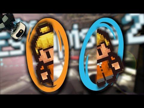 Portal 2 в The Escapists 2