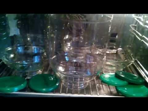 Как стерилизовать банки перед консервацией проверенный способ / How to sterilize jars