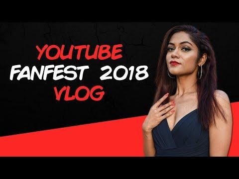Sonali Bhadauria @ Youtube FanFest Mumbai 2018 | VLOG