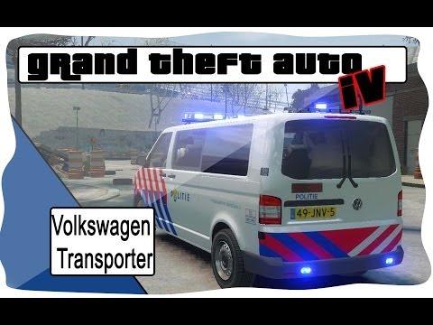 GTA4 Volkswagen transporter police [NL]