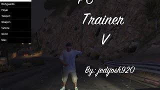 GTA 5 Pc Trainer V (FINAL TRAINER)