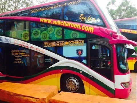 รีวิว Bus ทรัพย์เจริญทัวร์ Scania K410 EB บัส2ชั้น แรงสะใจ