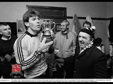 ⚽ Derry City 1-1 Dundalk FC - 1989/90 League Cup Final