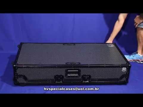 CASE PARA CDJ 2000 Mixer DJM 2000 black line