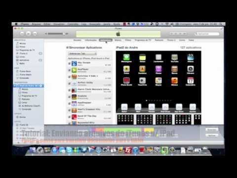 Aprenda a enviar arquivos do Computador para o iPad utilizando o iTunes