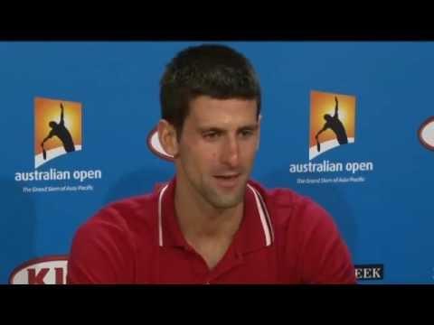 Australian Open 2012 - Novak Djokovic Vs Rafael Nadal - press conference