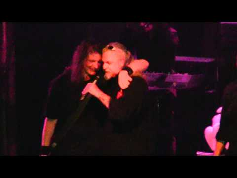 Jon Schaffer drunk on stage with Blind Guardian @ 70000 tons of metal 2011