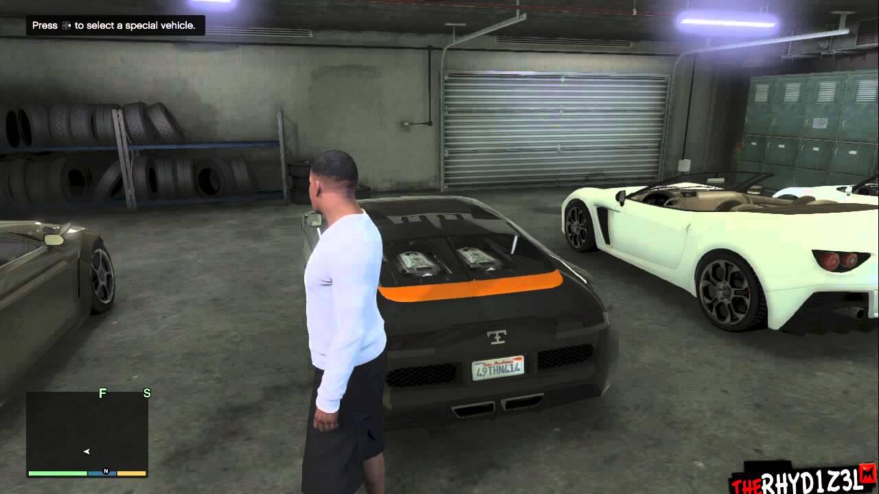 My Gta 5 Garage Walkthrough Tesla Bugatti Aston Martin