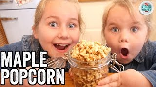 MAPLE PECAN POPCORN RECIPE