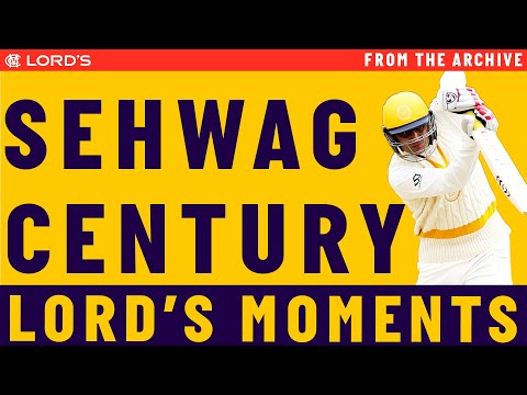 Sehwag Hits Classy Century For Mcc | Match Highlights video