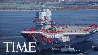 China Launches Its First Home-Built Aircraft Carrier | TIME