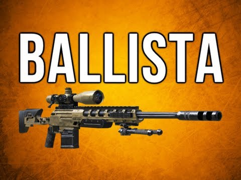 Black Ops 2 In Depth - Ballista Sniper Rifle Review & More!