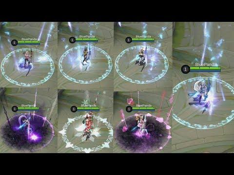 All Miya SKINS Side 2 Side Mobile Legends Best Miya Skin