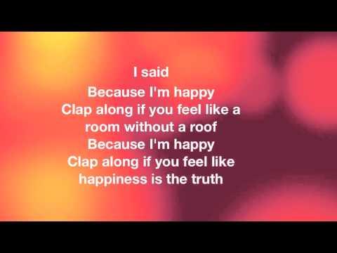 Pharrell Williams Happy Lyrics video