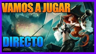 🔴LEAGUE OF LEGENDS COMO ser MAIN CON MISS FORTUNE GUIA