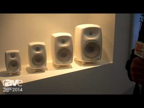 ISE 2014: Genelec Displays Home Audio Speaker Line, G Series Speakers and F Series Subwoofers