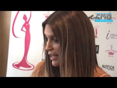 Jessica Newton Habla Del Miss Peru Universo 2016