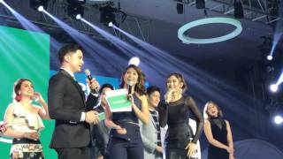 Sarah Geronimo is happy that Alden Richards is part of the Oppo family