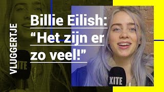 BILLIE EILISH geeft FASHION TIPS en teaset NIEUWE COLLABS | Vluggertje