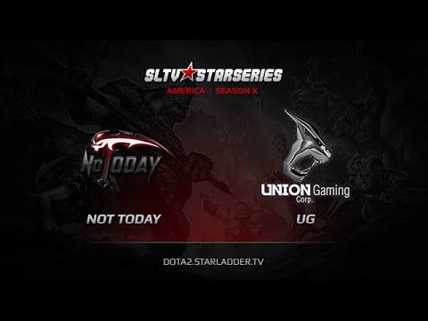 NoToday vs Union Gaming SLTV America Season X Day 6 Game 4