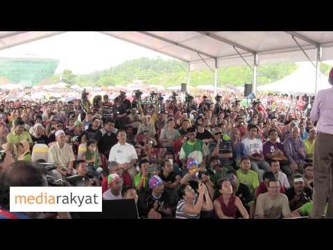 Anwar Ibrahim: Kempen PRU13 Putrajaya ( Destinasi )