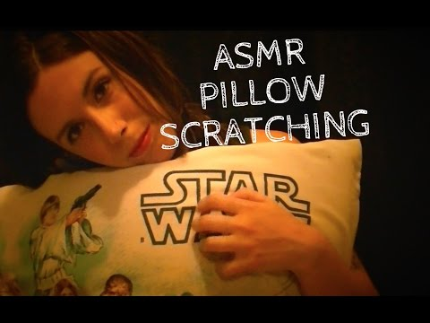 ASMR Pillow Scratching: May the 4th Be With You (Soft Spoken, Binaural)