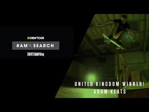 Adam Keats Dew Tour Am Search 2016 Winner