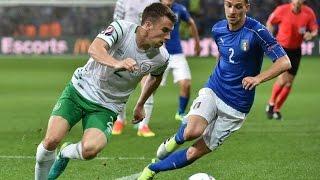 Italy vs Ireland 0-1 Goal 2016 - Robert Brady UEFA EURO 22/06/2016