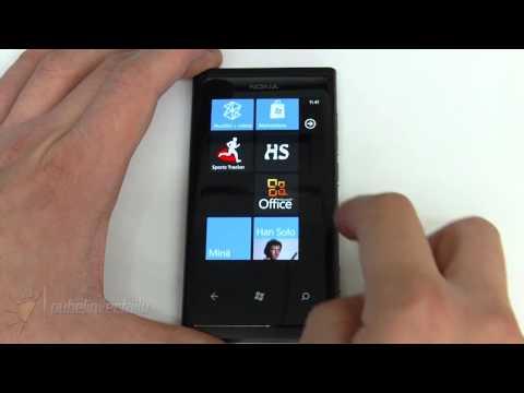 Nokia Lumia 800 - Käyttöliittymä