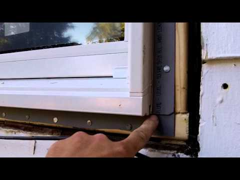 DIY: How to install new window on old house