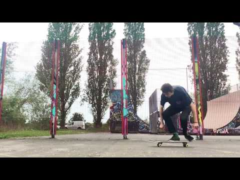 Front foot late double flip - Ellis Frost