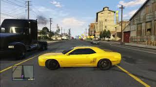 GTA 5 DODGE CHALLENGER DRIFT