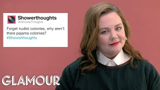 Melissa McCarthy Gives Advice to Strangers on the Internet | Glamour