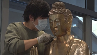 「クローン仏像」完成間近