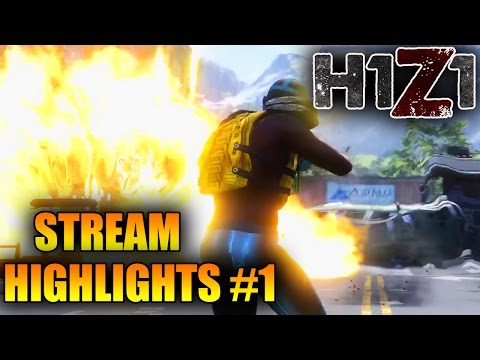 The Funniest Moments in H1Z1! King Of The Kill Stream Highlights #1 (H1Z1 Best Moments)