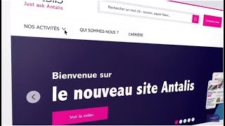 Découvrez en avant première le nouveau site Antalis !