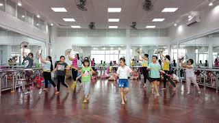 NTN TP - Lớp cô Châu - Liên khúc Migente -Up town Funk - Như Hoa Mùa Xuân-Nhảy hiện đại thiếu nhi