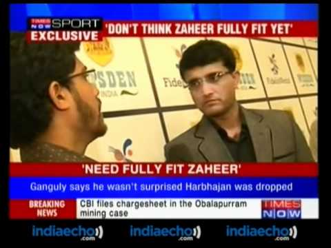 Former Indian Captain Sourav Ganguly Speaks Exclusively - Indiaecho.com