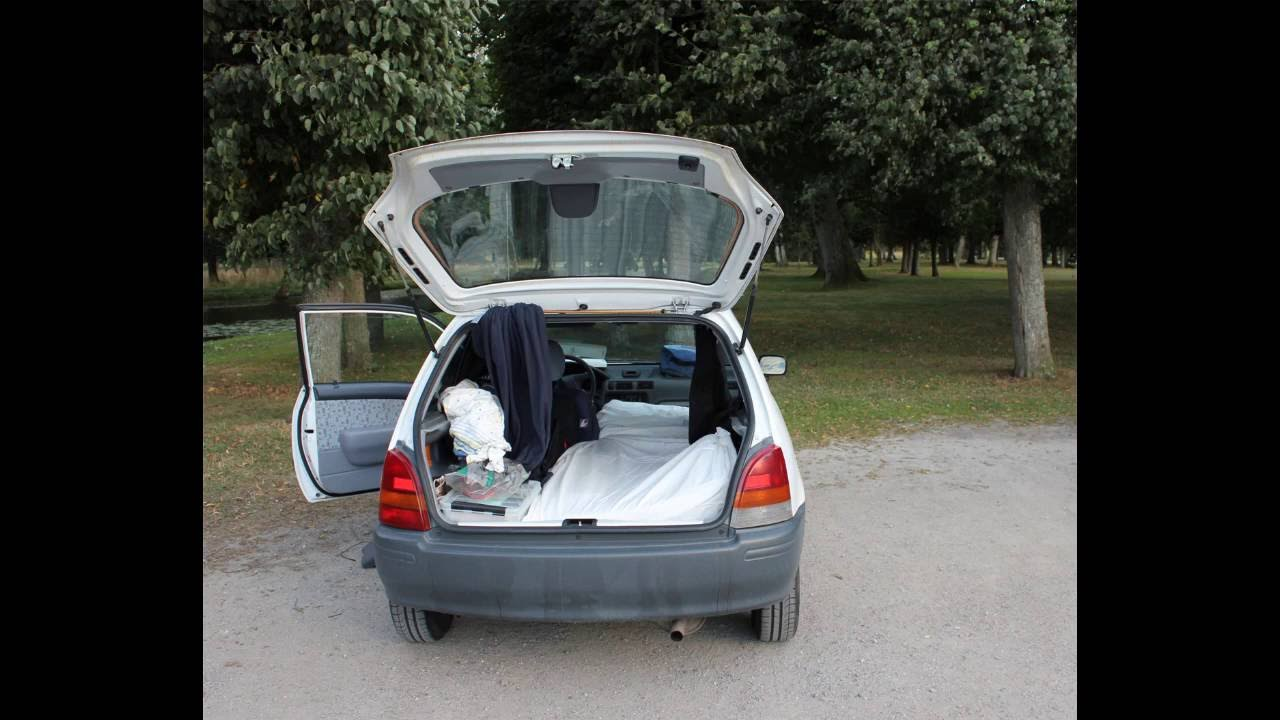 How to Sleep in Your Car on a Road Trip