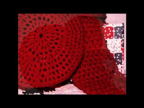 Bufandas y boinas hechas a mano.mp4
