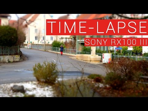 Time-Lapse Test with Sony RX100 III Camera