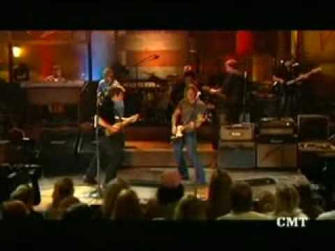 John Fogerty and Keith Urban singing Centerfield