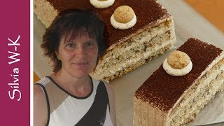 Eiskaffee Schnitte / Torte / Ice-Coffee-Cake