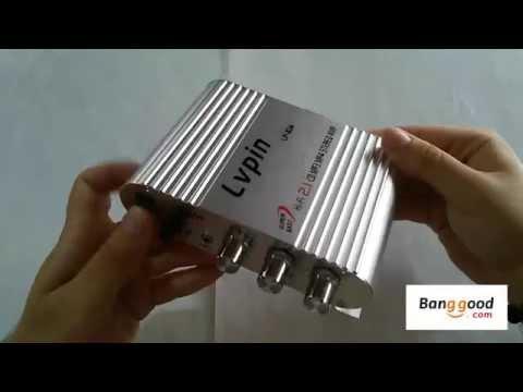 50W 12V Super Bass Mini Hi-Fi Stereo Amplifier Booster Radio MP3/banggood.com