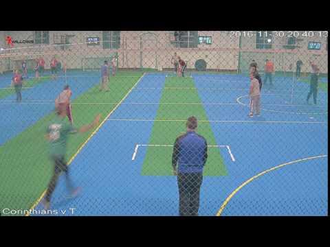 409224 Court2 Willows Sports Centre Cam3 Corinthians v The Sticky Wickets Court2 Willows Sports Cen