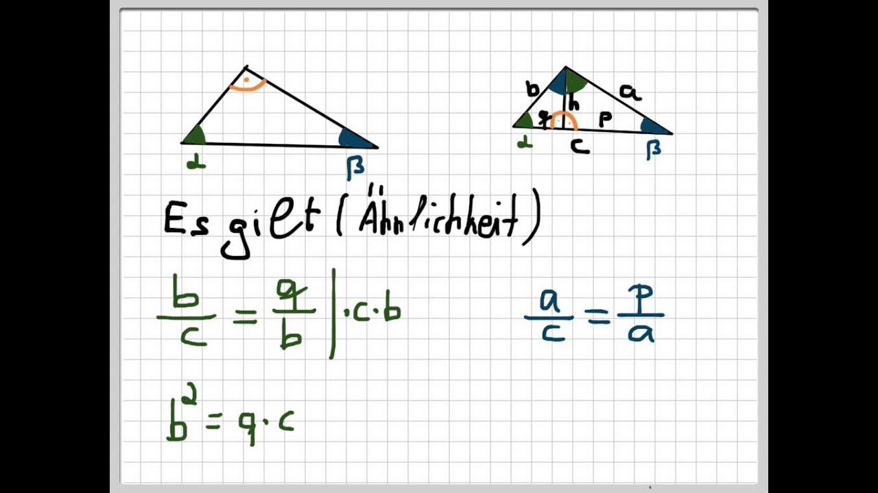 Pythagoras Beweis Garfield Beweis Satz Des Pythagoras