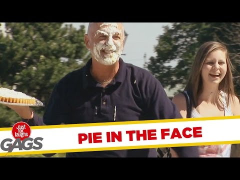 Pie In The Face Prank