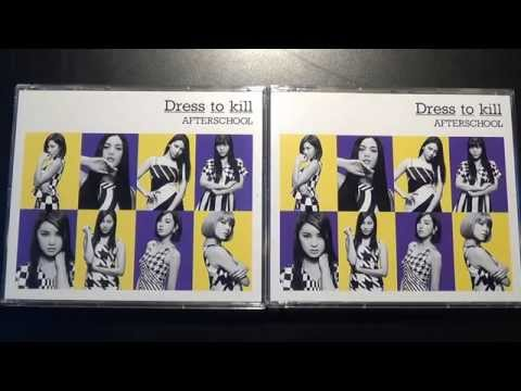 Unboxing After School 2nd Japanese Studio Album Dress to Kill [Mu-Mo Version]