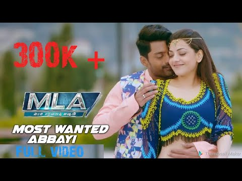 #MLA MOST WANTED ABBAI FULL VIDEO SONG FULLHD thumbnail