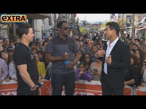 Wahlberg and Diddy on Oscars, Exes and New Business Venture